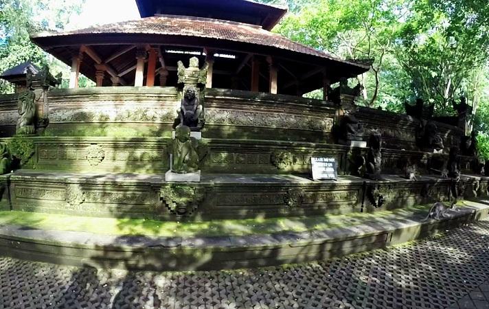 Tempel Affenwald Ubud