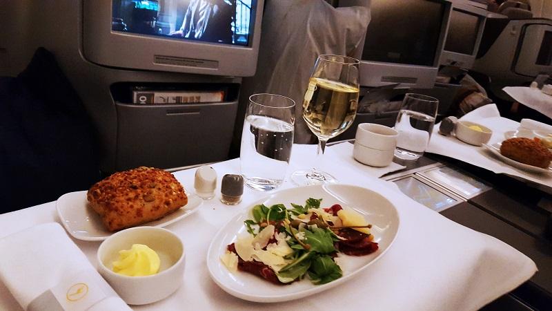 Business Class – wenn der Urlaub im Flugzeug beginnt