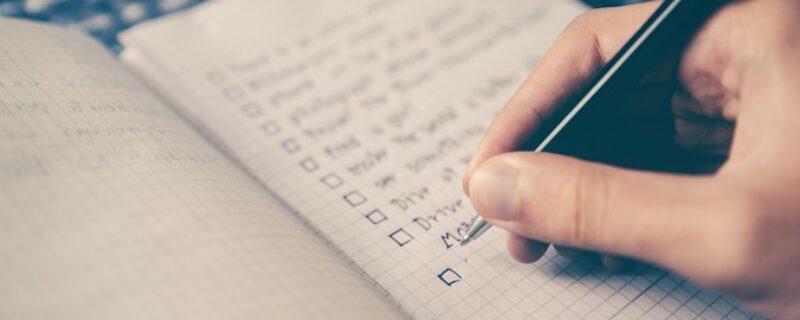 checkliste urlaub