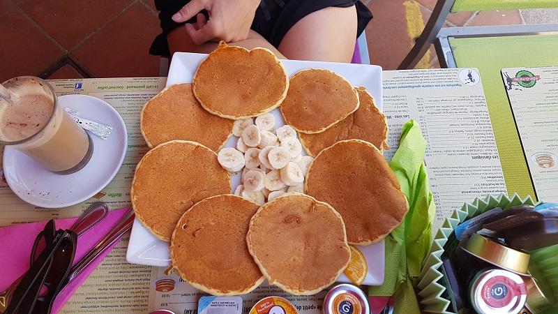 Pancakes im Pop O Thym