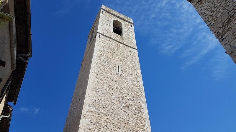 Turm in St Paul de Vence