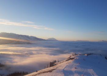 Ski fahren Gosau