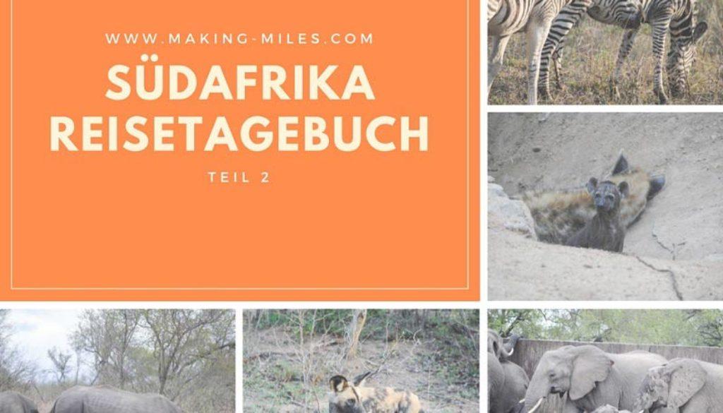 Südafrika-Reisetagebuch