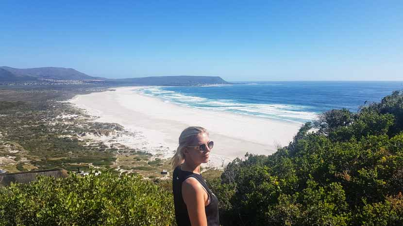 Suedafrika Kapstadt Nordhoek Beach