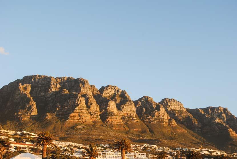 Suedafrika Kapstadt Tabel Mountain