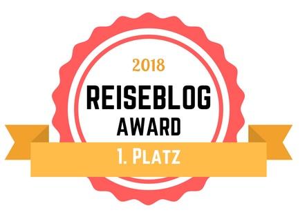 Reiseblogger Award 2018