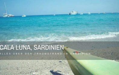 Cala Luna Sardinien