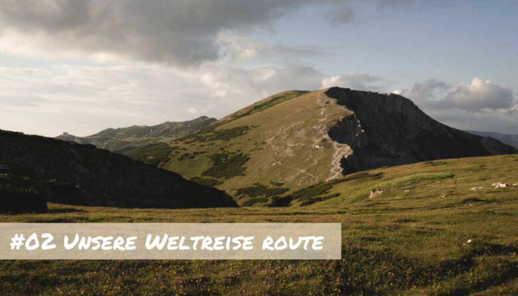 Weltreise Route (1)
