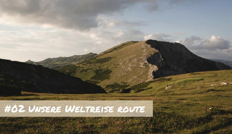 Weltreise Route (1)
