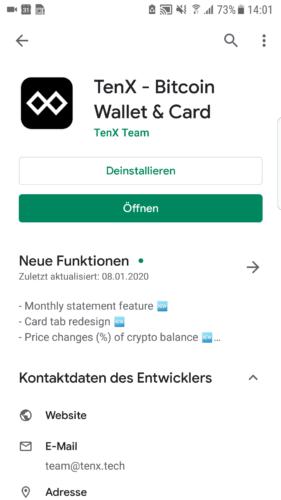 Schritt 1.1.: App herunterladen
