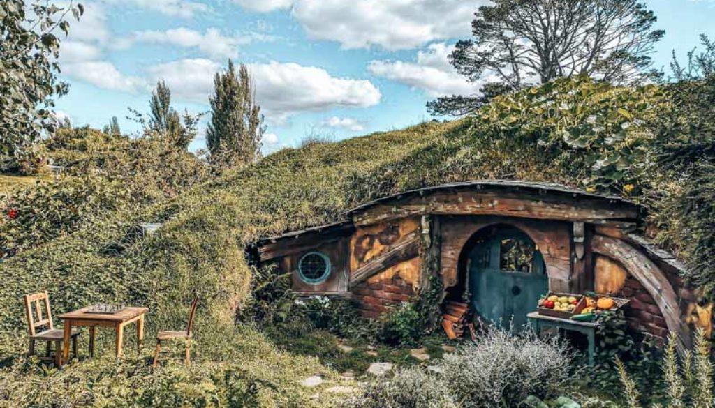 Hobbiton Höhle