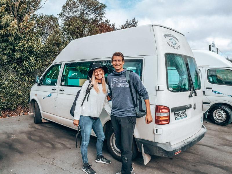 Neuseeland zu zweit im Camper