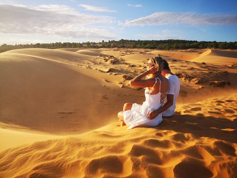 Mui Ne Vietnam Sandduenen