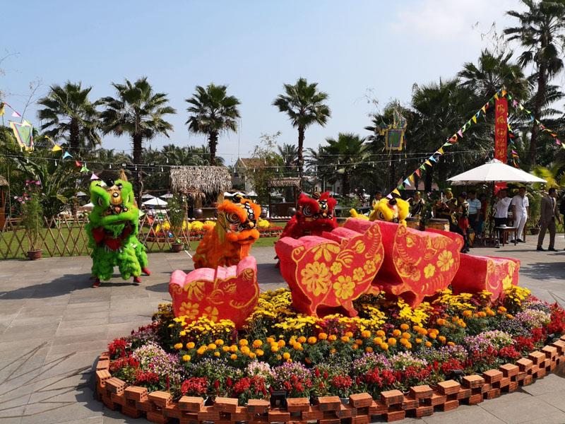 Blumen zum Chinese New Year