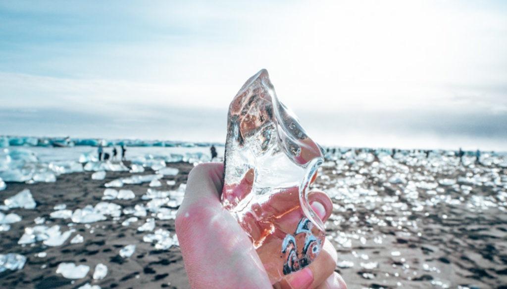 Island Diamond Beach Eis