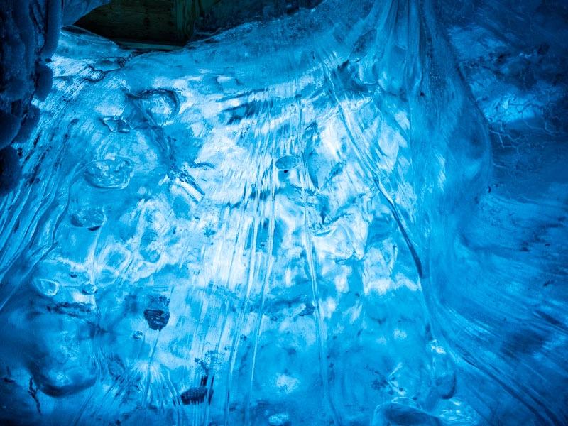 Island Ice Cave
