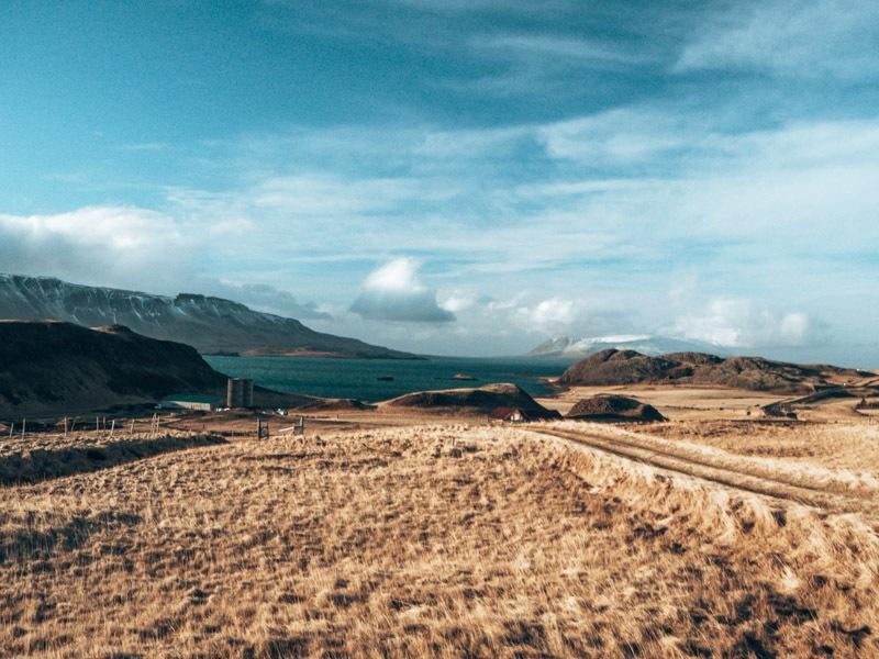 Island Roadtrip Hvalfjörður Landschaft