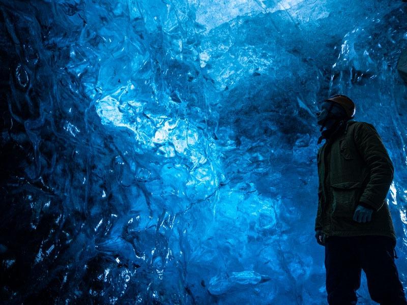 Island Eishöhlen Wanderung