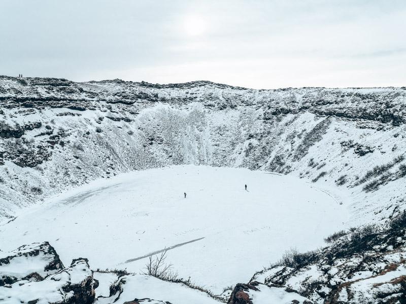 Island Kerið Krater