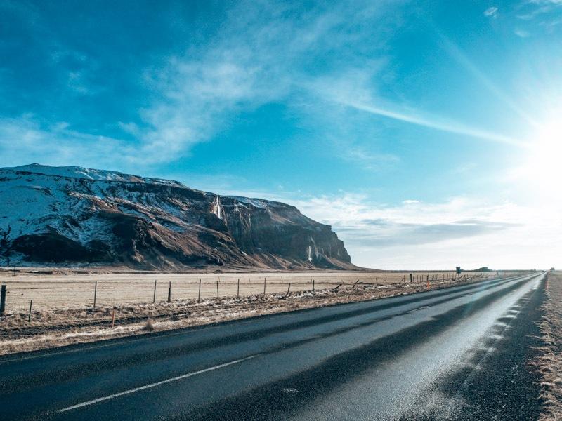 Island Roadtrip Landschaft