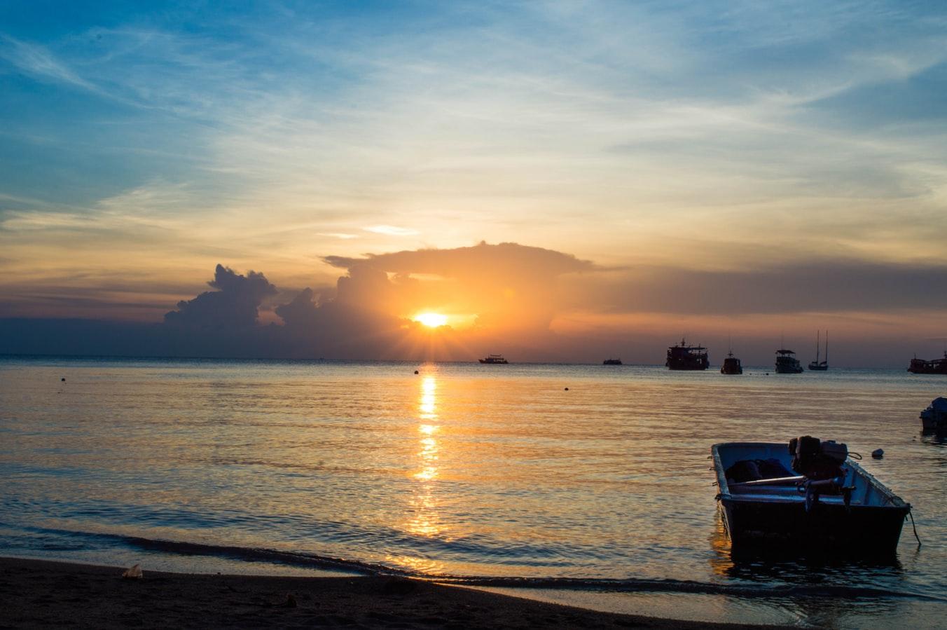 Koh Tao Sonnenaufgang