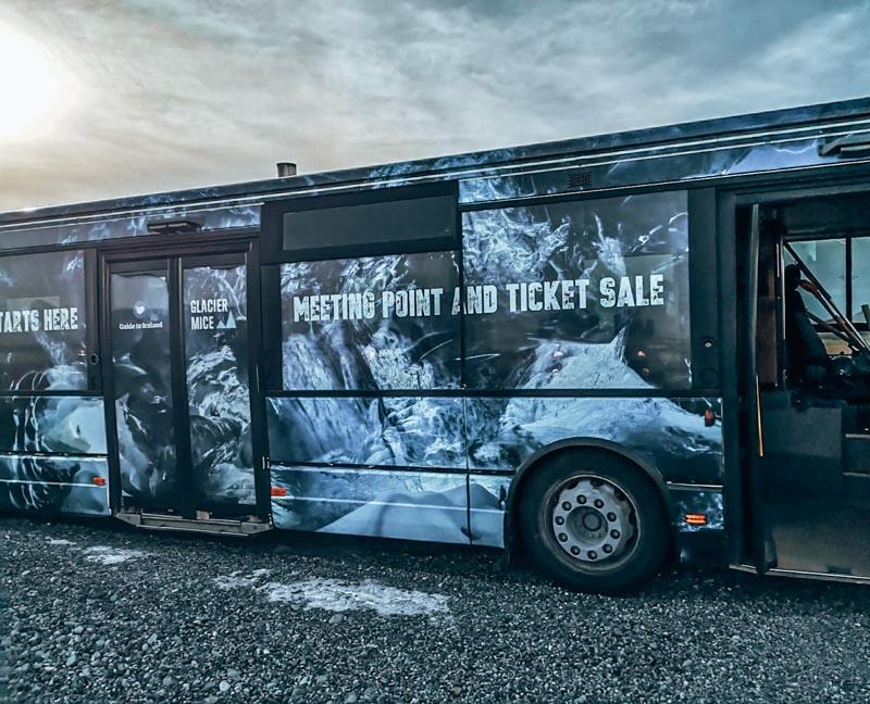 Eishöhlenwanderung/ Treffpunkt vor der Tour